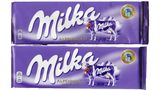 Milka Alpenmilch alt und neu