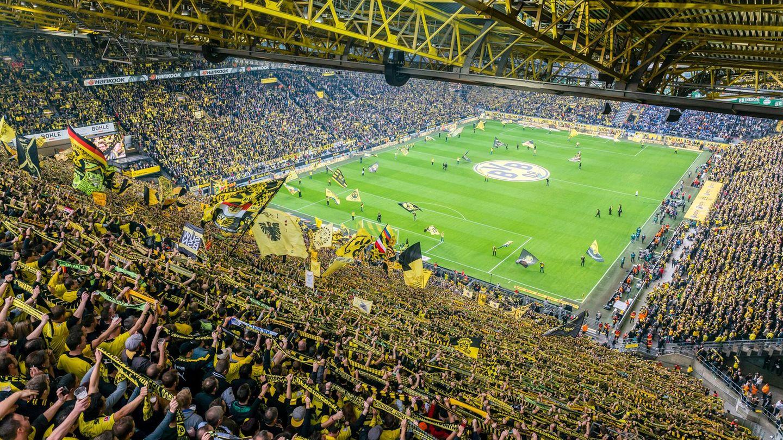 Sitzplätze bvb stadion Bundesliga