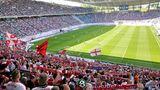 Die Red-Bull-Arena in Leipzig (knapp 43.000 Zuschauer)