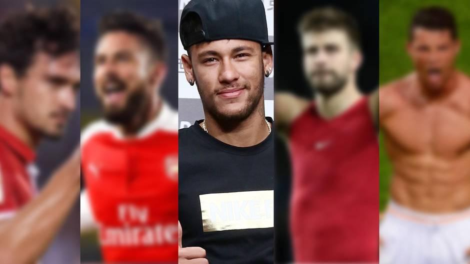 Hummels, Neymar und Co.: Diese Fußballspieler sind echte Hingucker