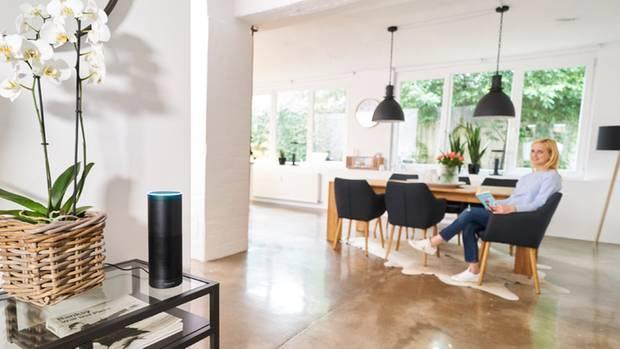 """""""Alexa, schließ die Haustür ab!"""": Sprachsteuerung von Amazon"""