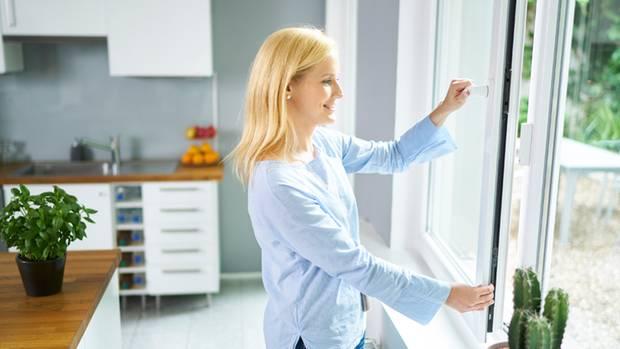 Auch am Fenster sorgen Sensoren für mehr Sicherheit