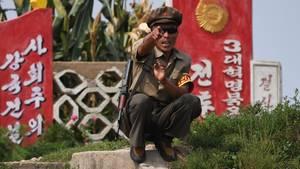 Nordkoreaner beschimpft Chinesen