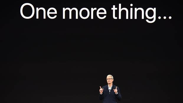 Apple iPhone Keynote Geheimnisse