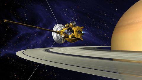 Raumsonde Cassini Saturn