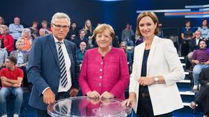 Angela Merkel TV-Debatte