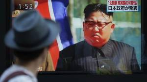 Internationale Sanktionen hin oder her: Kim jong-un hat die nächste Rakete über Japan hinweggeschossen
