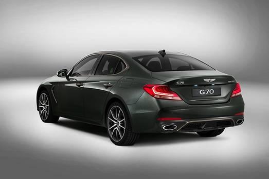 Genesis G70 - auch Audi A4 und Mercedes C-Klasse sind direkte Wettbewerber