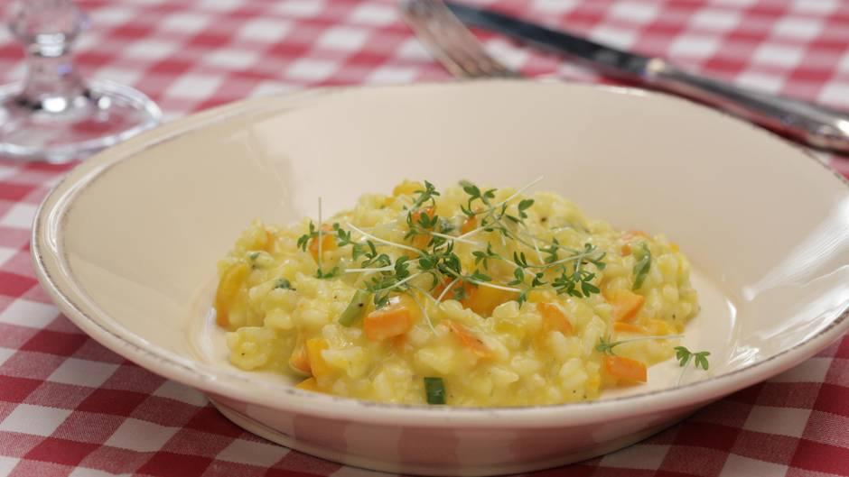 Farbenfroher Genuss: Dieses Kürbisrisotto ist das beste Gericht für den Herbst