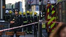 London: Berichte über Explosion in U-Bahn - mehrere Verletzte