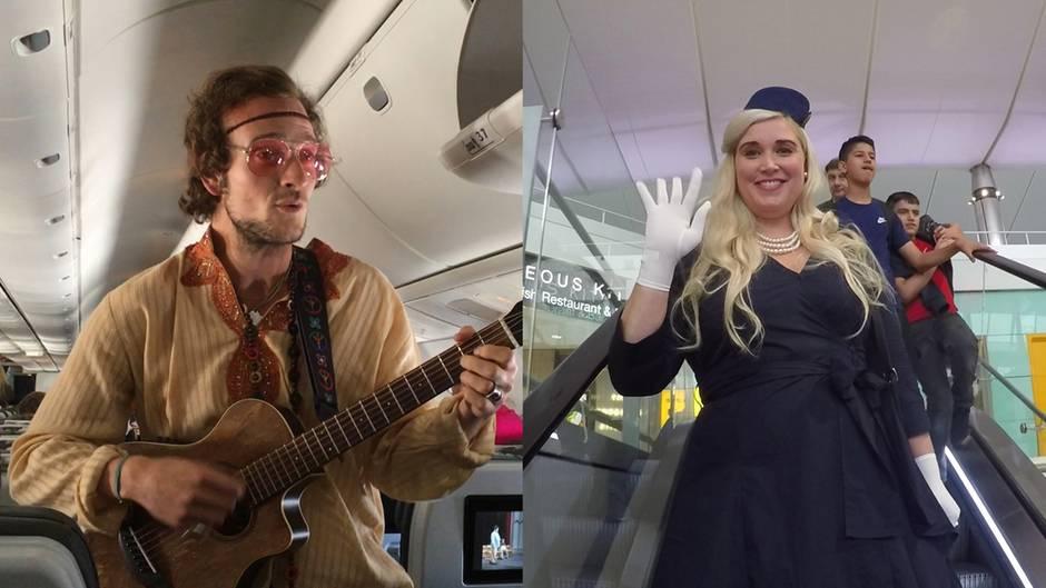 Flug nach Island: Ist das das beste Unterhaltungsprogramm an Bord eines Flugzeuges?