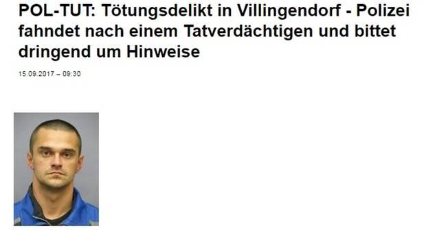 Drei Tote nach Schüssen - Frau gelingt Flucht - Täter wird gesucht: die Lage in Villingendorf