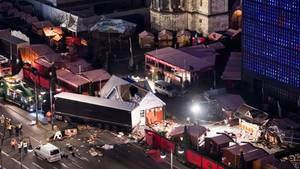 Terroranschlag von Berlin: Am 19. Dezember steuerte Anis Amri einen Lastwagen in den Weihnachtsmarkt auf dem Breitscheidplatz