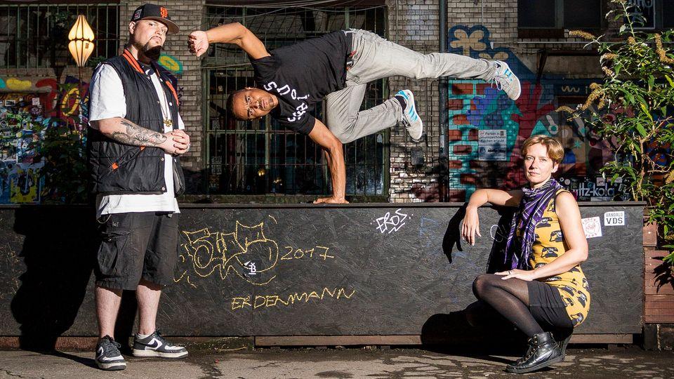 """Die Hip-Hop-Partei """"Die Urbane"""""""