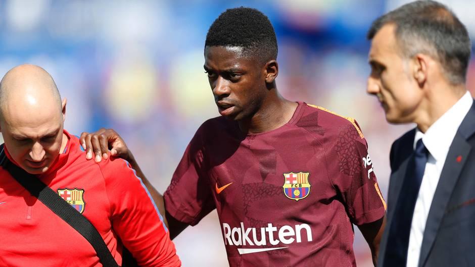 Ousmane Dembélé wechselte im Sommer für mindestens 105 Millionen Euro vom BVB zum FC Barcelona