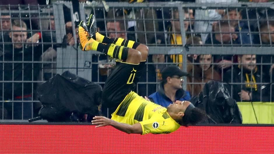 Pierre-Emerick Aubameyang vom BVB hat nach seinen zwei Toren gegen Köln nun gegen jeden Bundesliga-Klub getroffen