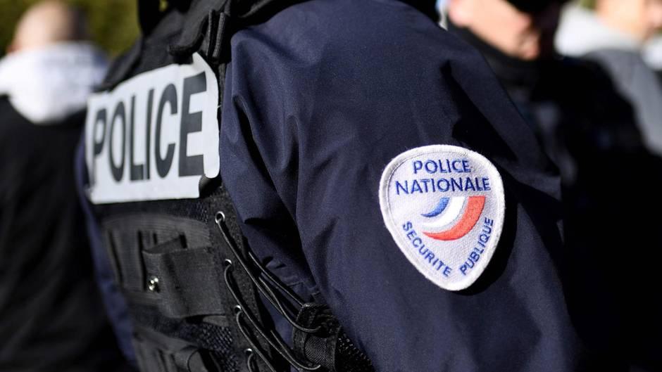 Polizisten in Marseille