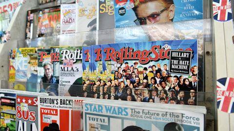"""""""Rolling Stone"""" Gründer Jann Wenner gründete das Magazin 1967 als Student in Kalifornien."""