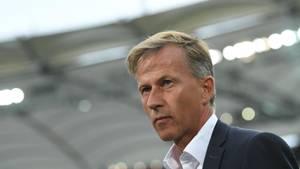 Der Niederländer Andries Jonker ist nicht mehr Trainer des VfL Wolfsburg
