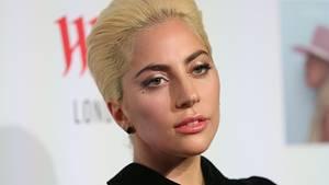 Lady Gaga auf einer Veranstaltung in London, England.