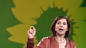 Katrin Göring-Eckart auf dem Parteitag der Grünen