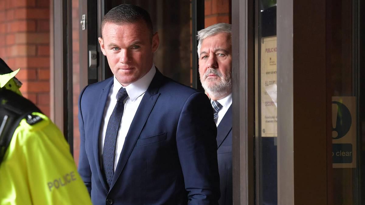 Alkohol am Steuer: Fußballstar Wayne Rooney muss Führerschein abgeben