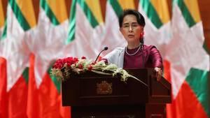 """Myanmar: Regierungschefin Suu Kyi verurteilt erstmals """"Menschenrechtsverletzungen"""" in Rakhine"""