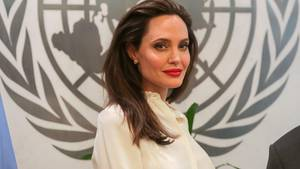 Angelina Jolie setzt sich für Rohingya-Minderheit in Myanmar ein: Die Schauspielerin im UN-Büro in New York