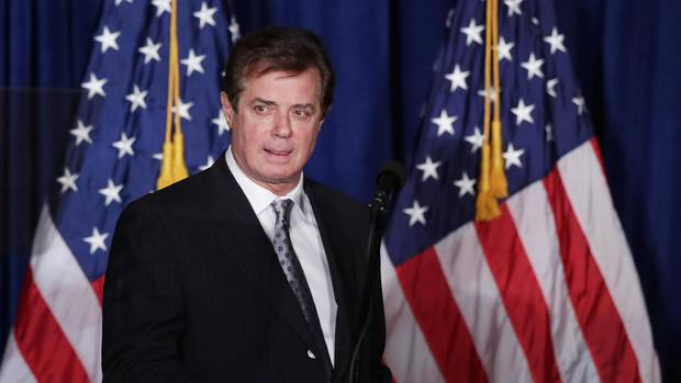Trumps Ex-Wahlkampfchef Paul Manafort