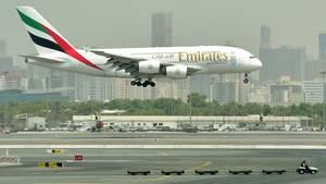 Mit knapp 100 Maschinen vom Typ Airbus A380 sind Emirates Airlines die weltweit größten Betreiber dieses Flugzeugtyps, der auch auf den Strecken von Dubai nach München, Frankfurt und Düsseldorf zum Einsatz kommt.