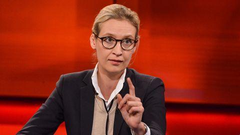Student stellt Alice Weidel zur Rede - AfD-Frau gerät ins Schlingern