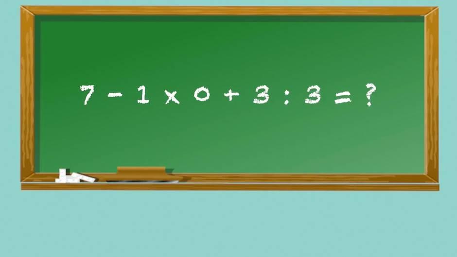 Rätselspaß: Können Sie diese Gleichung lösen?