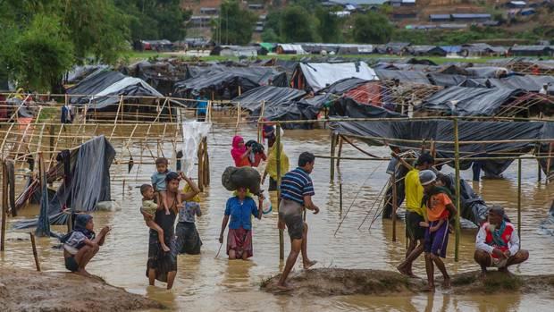 Rohingya Flüchtlinfgslager in Bangladesch