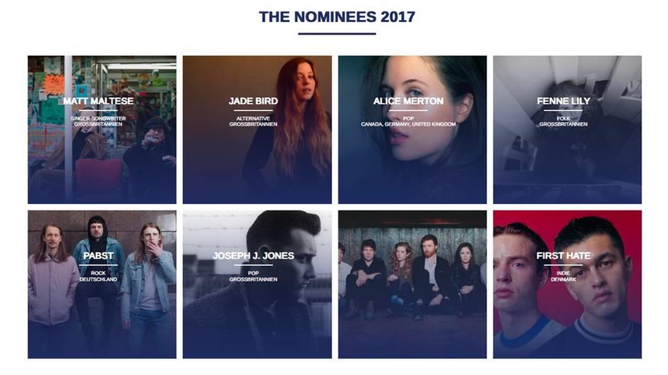 Reeperbahn-Festival 2017: ANCHOR Award: Das sind die Nominierten
