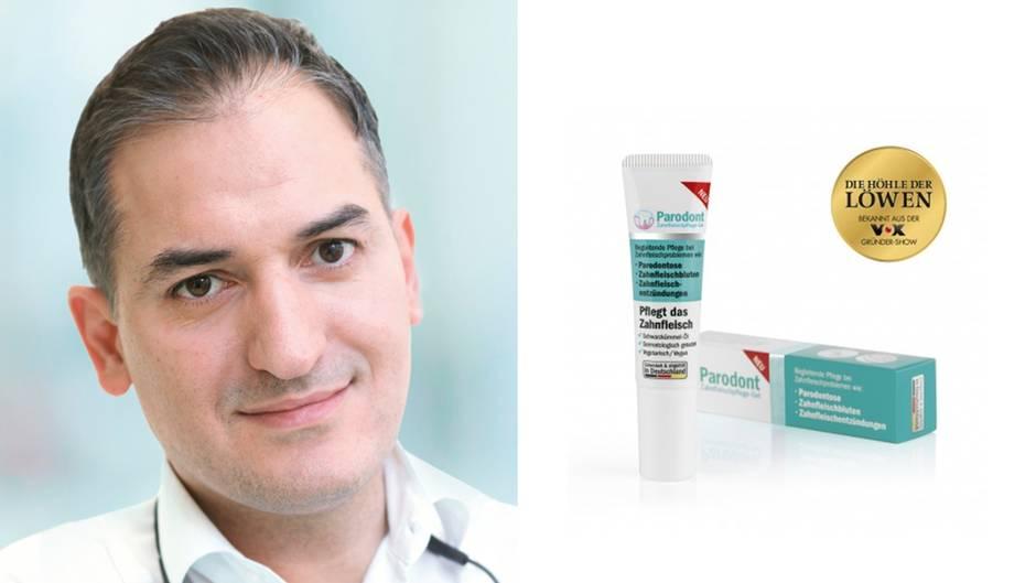 """""""Die Höhle der Löwen"""": Parodont-Creme: Ismail Özkanli erklärt sein Produkt im Interview"""