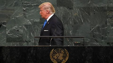Donald Trump vor der UN