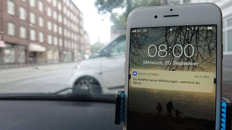iOS 11 versteckte Tricks Störungsfreies Fahren