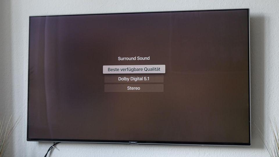 7.1-Ton wird unterstützt - für die meisten Wohnzimmer mehr als ausreichend. Sound-Enthusiasten haben vermutlich noch auf Dolby Atmos und Co. gehofft.