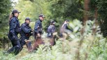 Nach dem Dreifachmord von Villingendorf hatte die Polizei tagelang umliegende Wälder durchsucht - ohne Ergebnis.