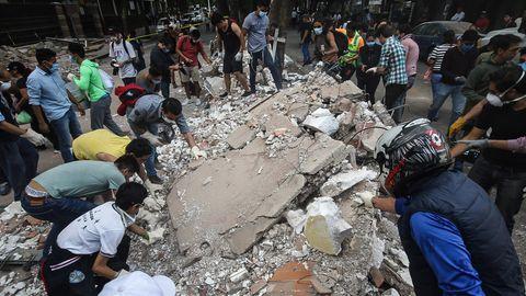 Schweres Erdbeben in Mexiko: Zahl der Toten auf mindestens 224 gestiegen