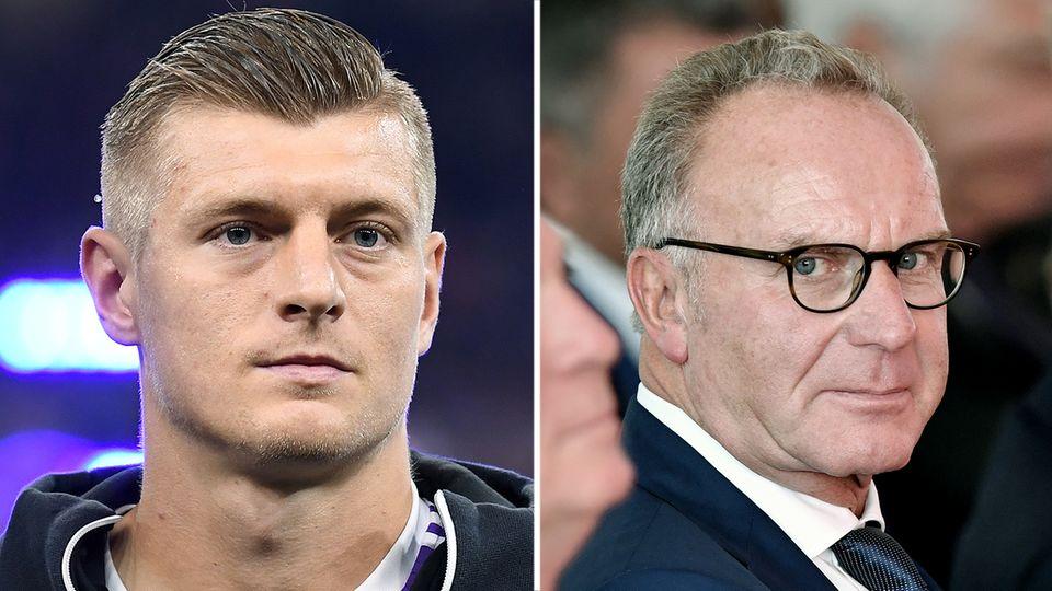 Karl-Heinz Rummenigge hielt zu dessen Münchner Zeiten nicht allzu viel von Mittelfeldspieler Toni Kroos