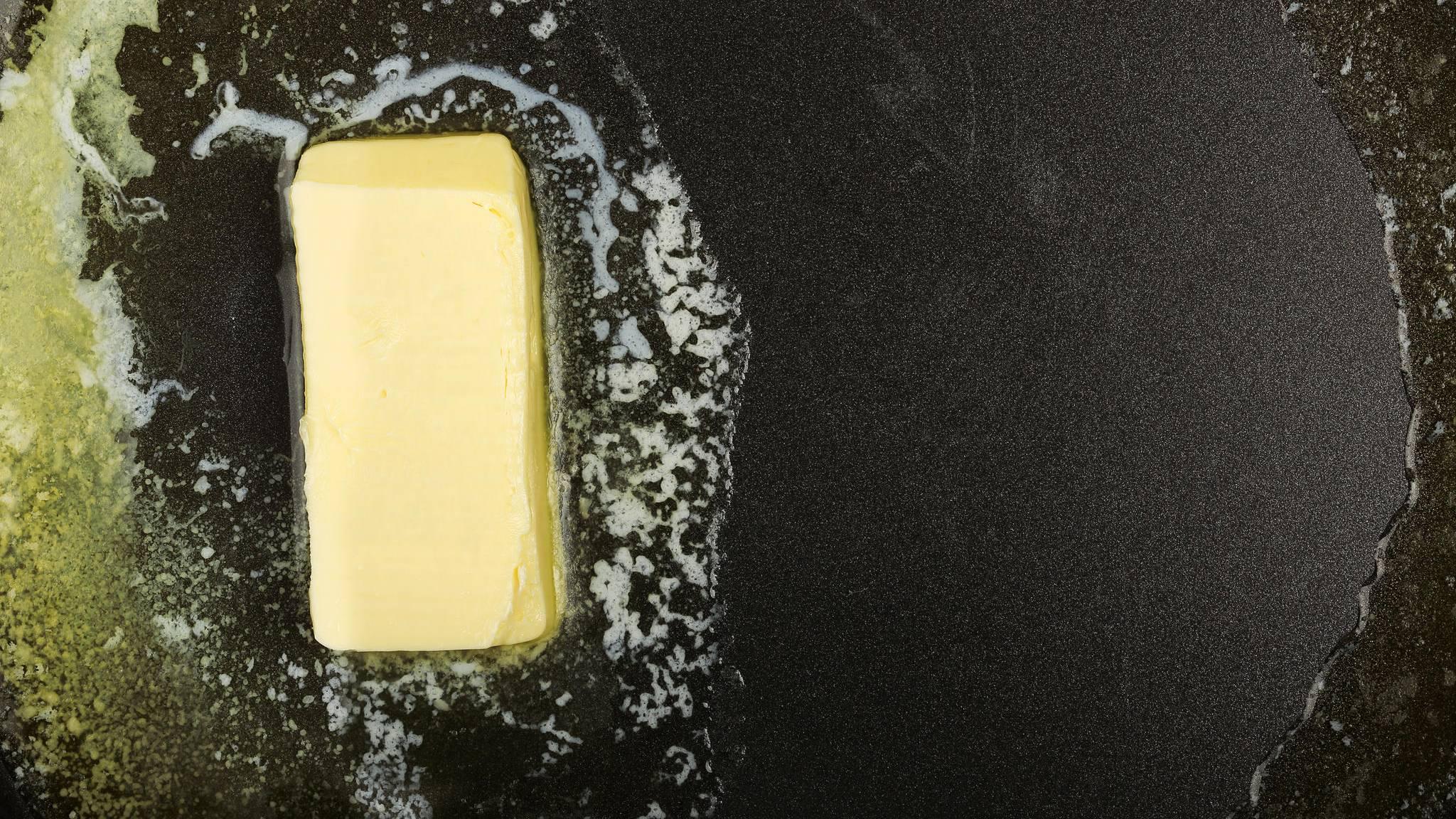 butter rapsöl mischen