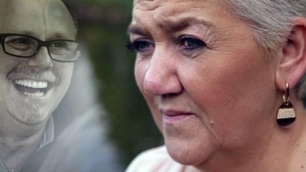 Barbara Mieleszko verlor ihren Mann Michael (48), nachdem er an den Mandeln operiert wurde.