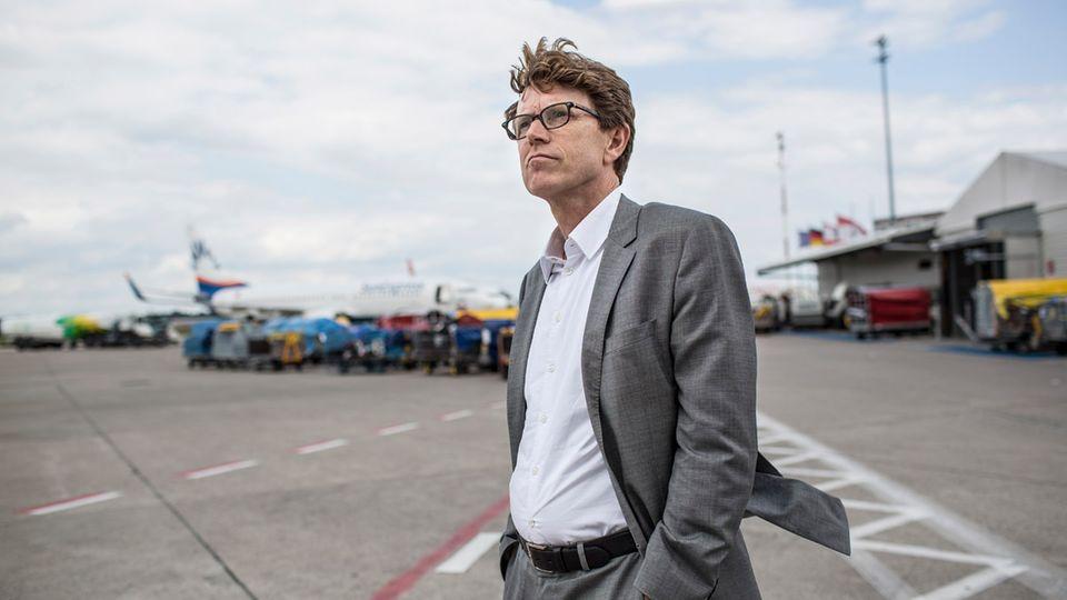 BER-Flughafenchef Engelbert Lütke Daldrup