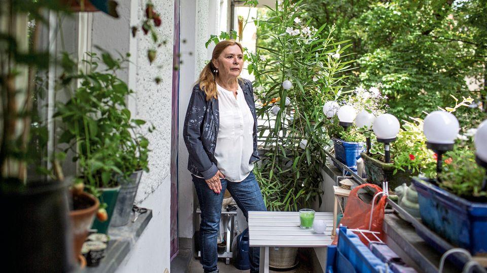 Anwohnerin und Lärmbetroffene Martina Scherf