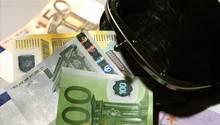 Tasche mit Geld
