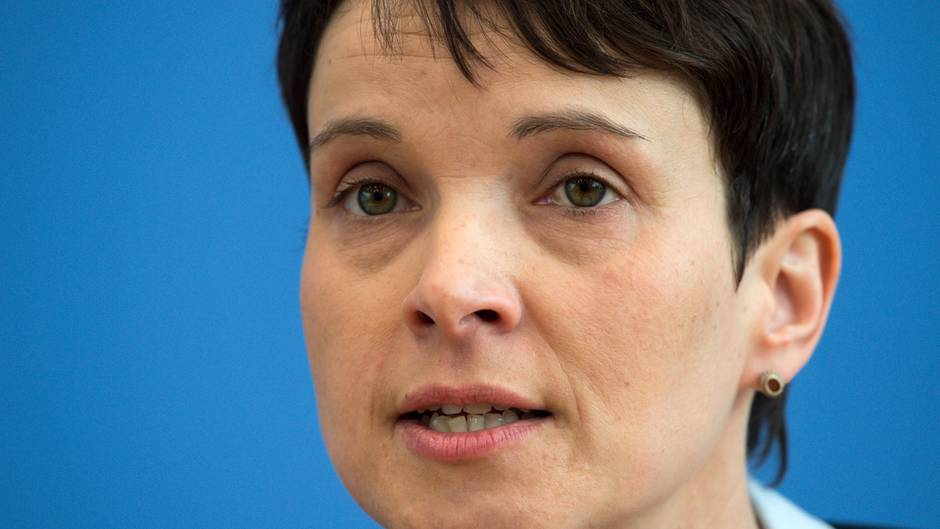 Wahl 2017: AfD-Chefin Frauke Petry