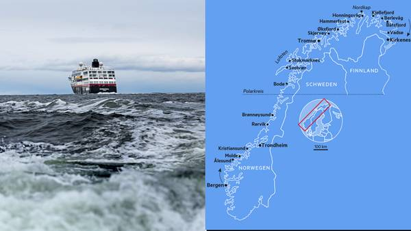 Reiseziel Norwegen: Linienschiffe der Hurtigruten – mit Volldampf zum Polarkreis