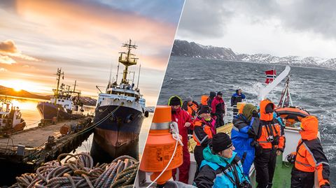 Von Bergen bis Kirkenes: Mit den Hurtigruten durch Norwegen