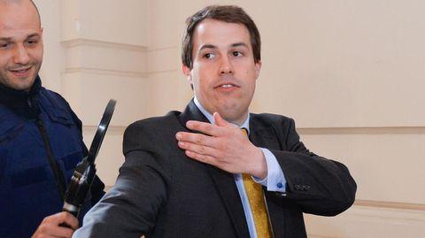 Der ehemalige belgische Abgeordnete Laurent Louis (Archivbild)